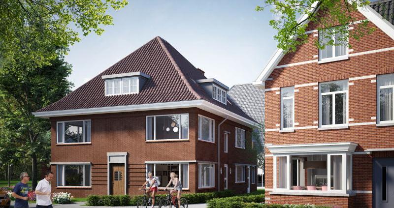 Appartementen hoekpand transformatie nieuwbouw